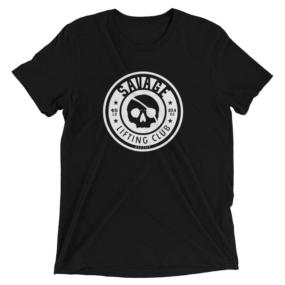 Savage Lifting Club Tri-Blend T-Shirt