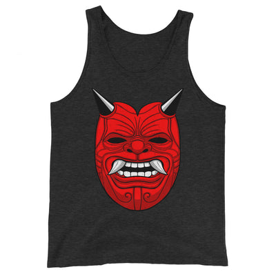 Red Deemon Tri-Blend Tank Top