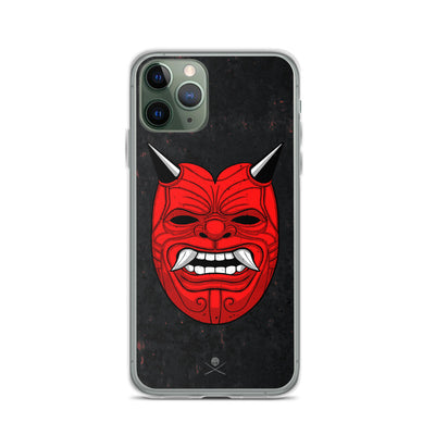 Red Deemon iPhone Case