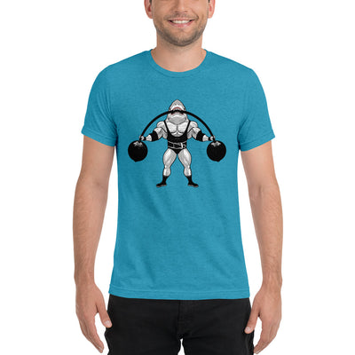 Strongman Shark Tri-blend T-shirt