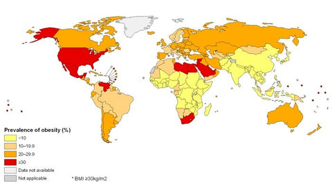 Global Obesity map