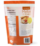 CASE OF 10  Melba toast plain - only 1/4 carb per slice