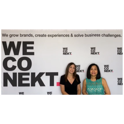 WeConekt converts their 2019 CEDIA EXPO Booth to a Video Studio.