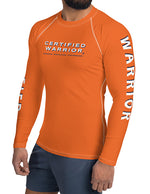 WARRIOR WORKOUT TEE - ORANGE