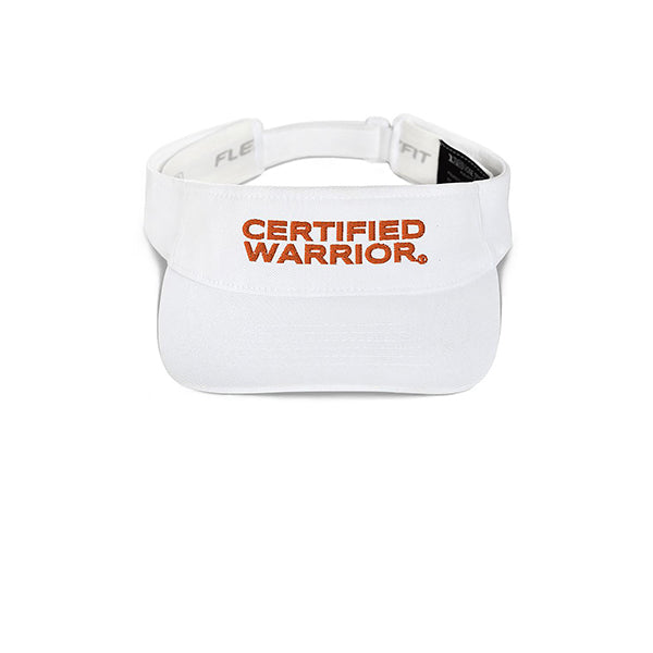 WARRIOR VISOR - WHITE