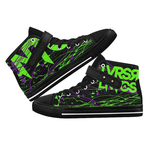 CRZY High Top Strap Shoes - Women's--LOVERS ARE LUNATICS UK