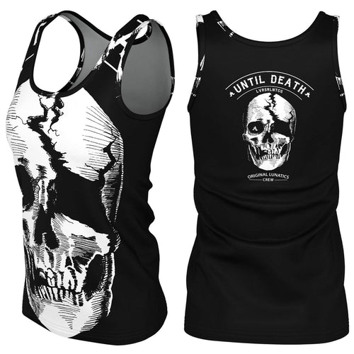 Death Valley Premier Tank Top - Women's-XS-LOVERS ARE LUNATICS UK