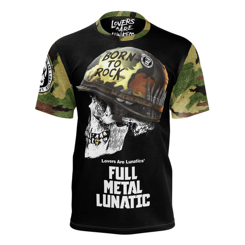 Full Metal Lunatic Premier Tee - Men's-XS-LOVERS ARE LUNATICS UK