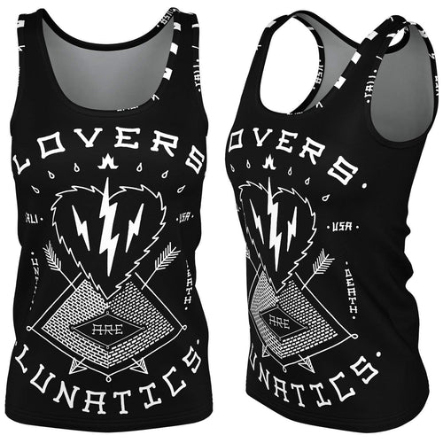 Iron Hearts Premier Tank Top - Women's--LOVERS ARE LUNATICS UK