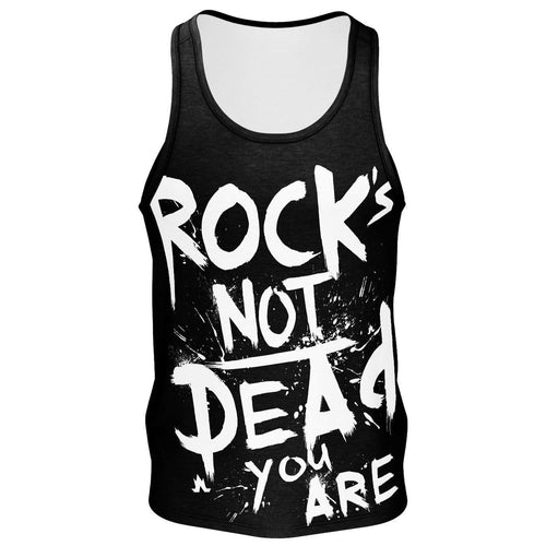 Rock's Not Dead Premier Tank - Men's--LOVERS ARE LUNATICS UK