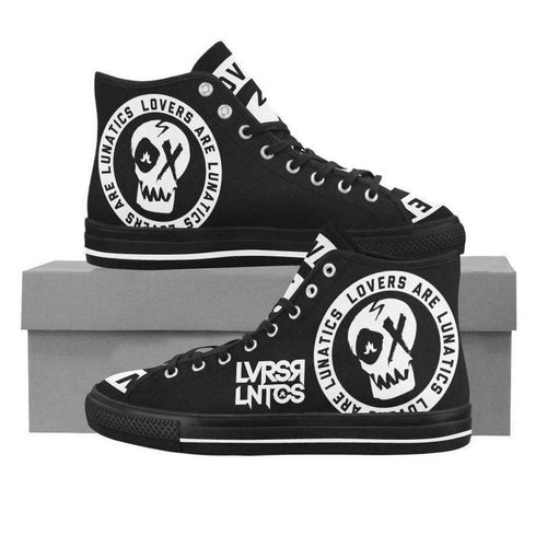 Venom High Top Canvas Shoes - Men's--LOVERS ARE LUNATICS UK