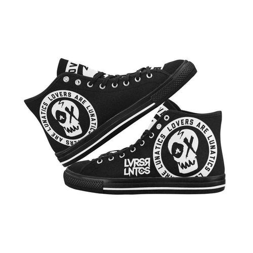 Venom High Top Canvas Shoes - Women's--LOVERS ARE LUNATICS UK