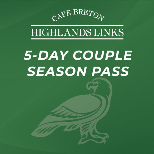 Cape Breton Highlands Links Five Day Couple Season Pass