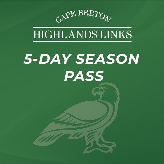 5-Day Season Pass: Cape Breton Highlands Links