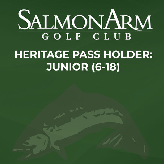 Salmon Arm Heritage Pass Holder: Junior (6-18)
