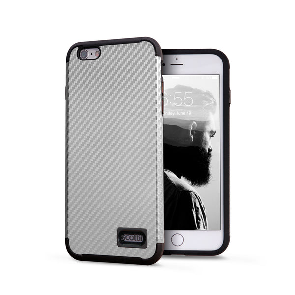 Full Carbon Fiber Polycarbonate and Thermo Polyurethane iPhone 6 and 6s case