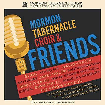 Mormon Tabernacle Choir and Friends CD