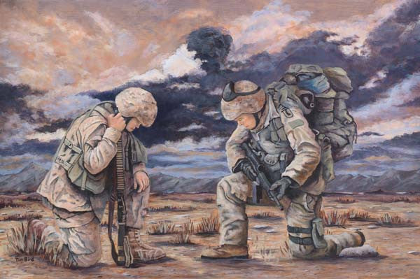 """Soldiers Prayer"" by Tim Bird - Various Sizes"