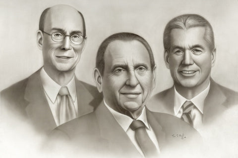 """The First Presidency"" by Tim Bird - Various Sizes"