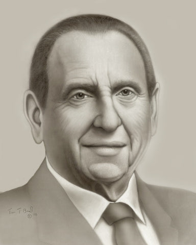 Thomas S. Monson - By Tim Bird - Various Sizes