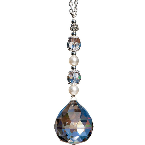 30 mm Satin Crystal Ball Suncatcher