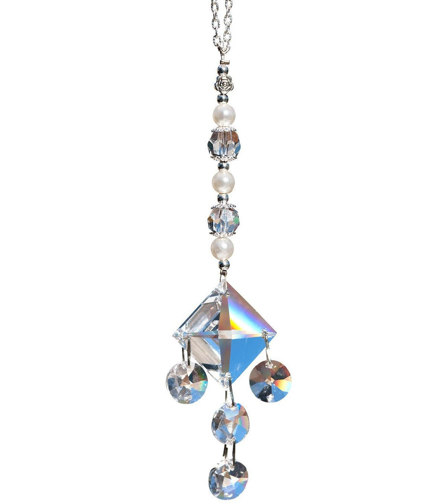 Clear Crystal Kite Suncatcher