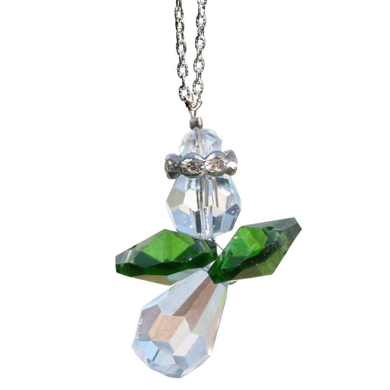Peridot Angel Crystal Suncatcher