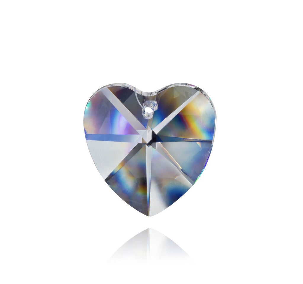 28 mm Crystal Heart
