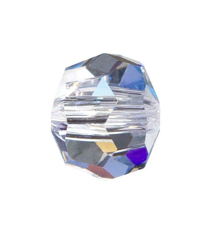 8 mm Round AB Crystal Bead (15 pcs)