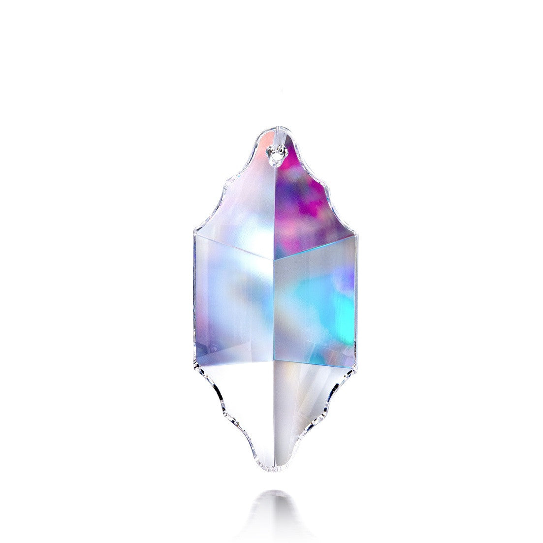 2.5 in Crystal Block Prism