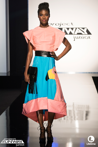project runway junior season 2 two designer allie challenge 2