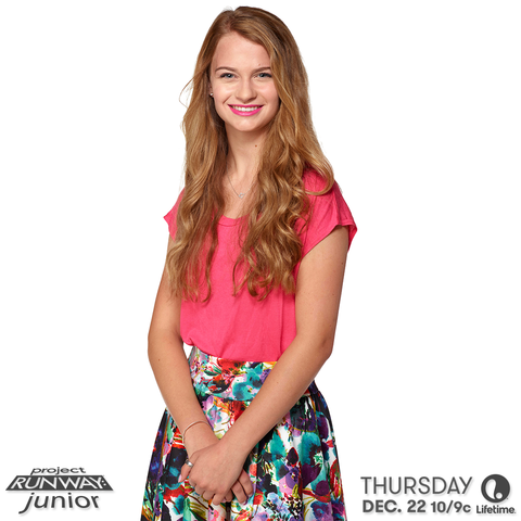 project runway junior designer allie season 2 two