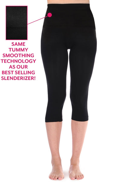 Tummy Smoothing Luster Smooth Capri