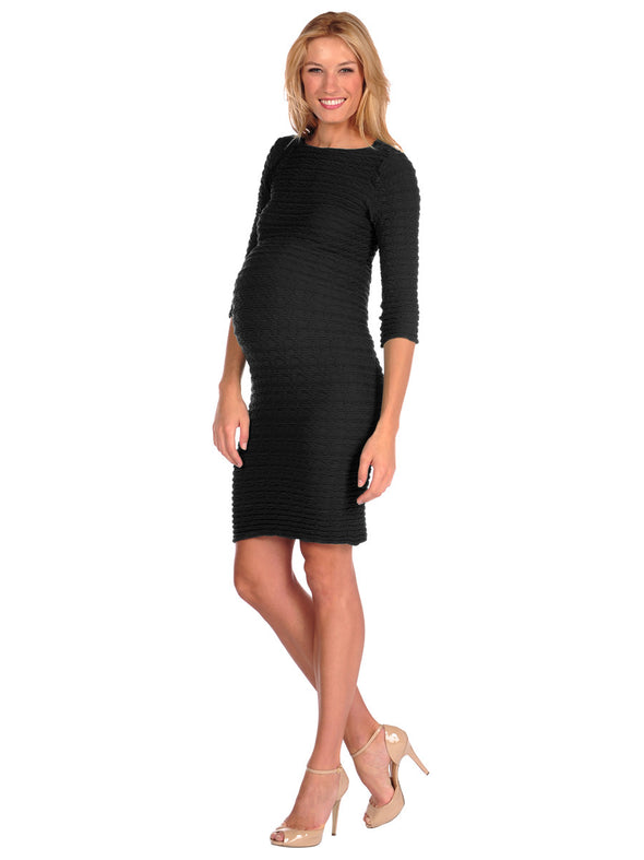 Crinkle Dress-Maternity