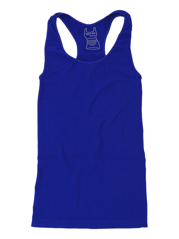 303RB-142 Royal Purple Racer Back Tank