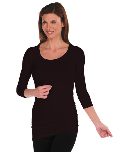 3/4 Sleeve Tunic Slip Dress - FINAL SALE