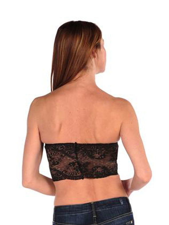 Lace Overlay Bandeau