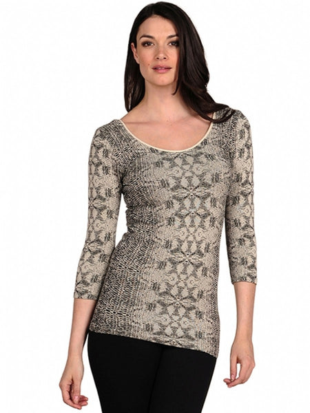 Sorbtek Snake 3/4 Sleeve Top