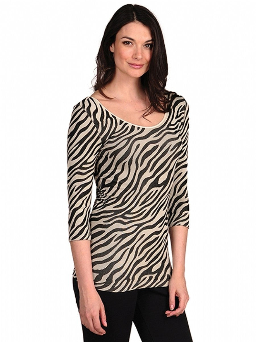Sorbtek Zebra 3/4 Sleeve Top