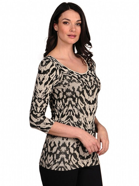 Sorbtek Tiger 3/4 Sleeve Top