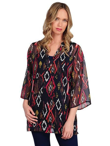 Stevie Chiffon Tunic - FINAL SALE
