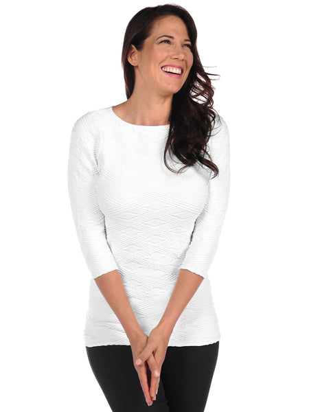 Diamont 3/4 Sleeve Top