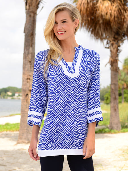 Tina 3/4 Sleeve Tunic - FINAL SALE