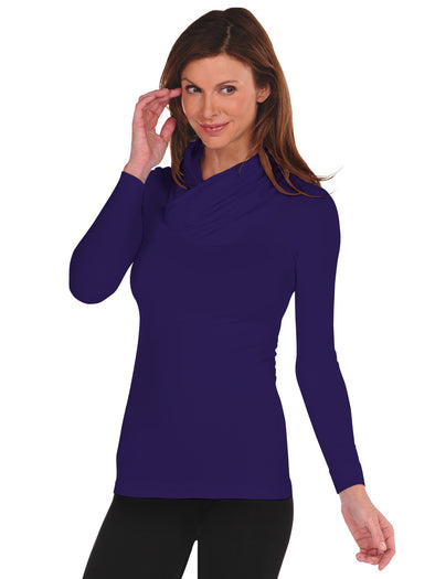 Long Sleeve Cowl Neck - FINAL SALE