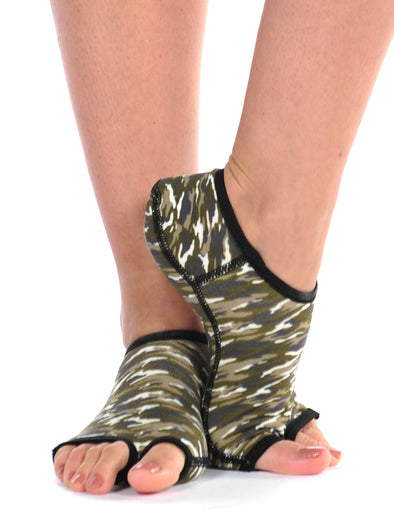 PureToes-Olive Multi Camo - FINAL SALE