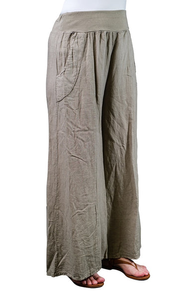 Emmie Linen Palazzo Pant