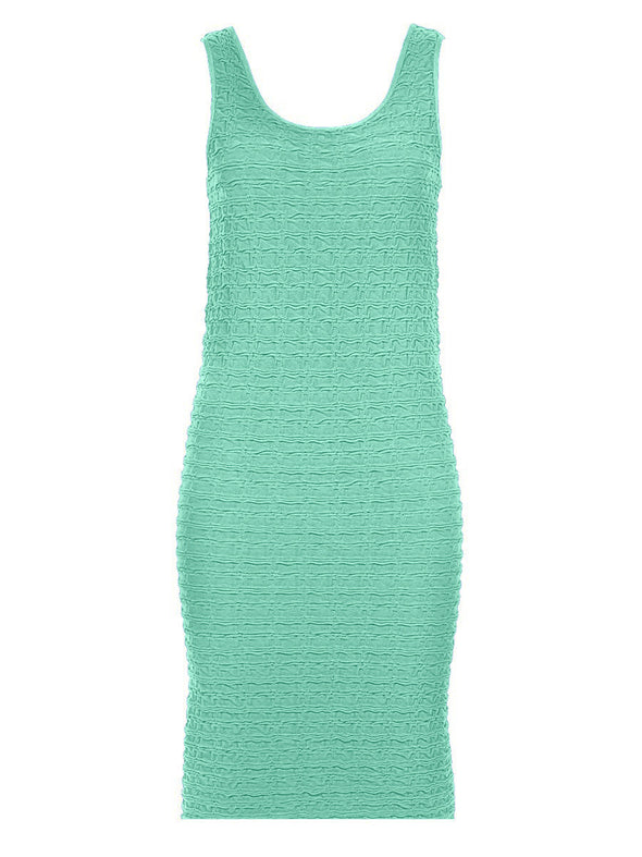 Crinkle Tank Dress (The Miracle Dress!)-Maternity