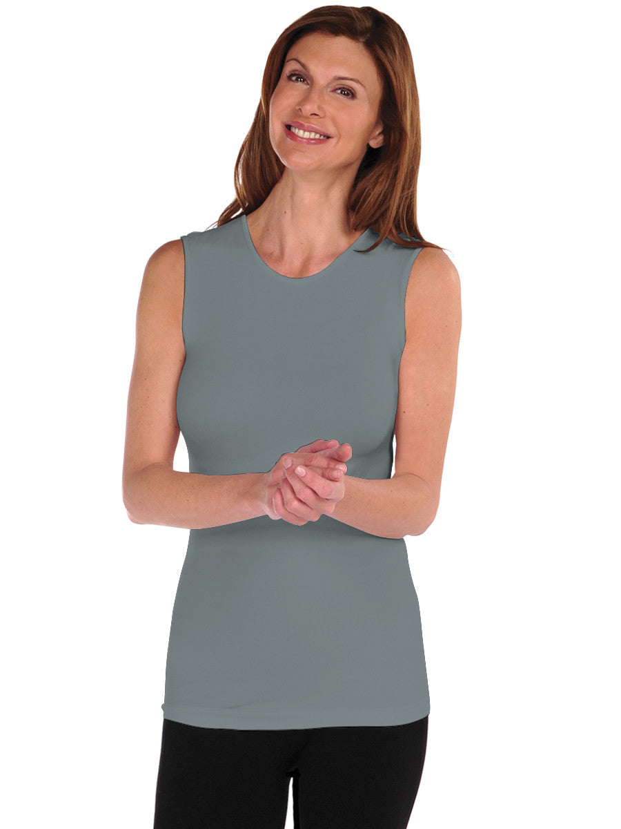 Sleeveless Crewneck