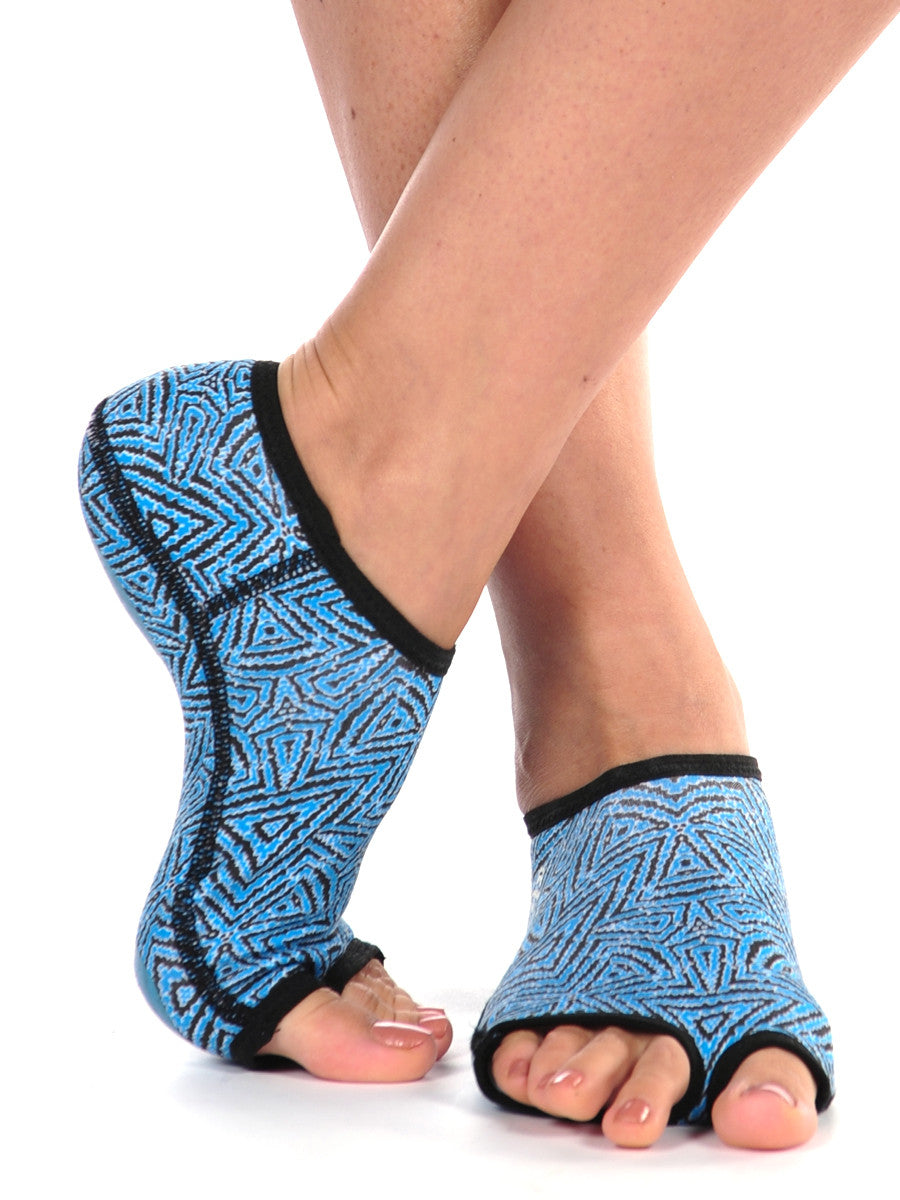 PureToes-Turquoise/Charcoal Tribal