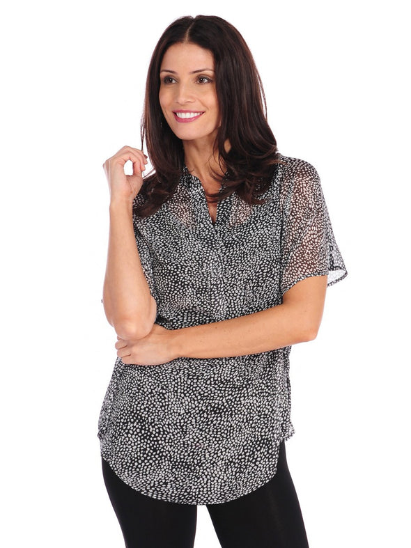Flannery Print Top